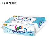 쌍용 코디 아쿠아후레쉬(캡) 물티슈72매