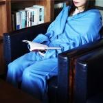 [무료배송] 소매담요 BLUE