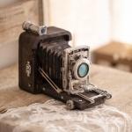 빈티지 폴딩 카메라