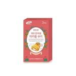 [제키스] 제주 한라봉 마카롱쿠키 미니 3개입(60g)