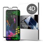 스킨즈 LG G8 4D 풀커버 강화유리 액정 필름 (1장)