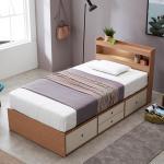 [노하우] 베리떼 LED 4단 서랍형 슈퍼싱글 침대