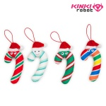 [킨키로봇] 크리스마스 지팡이 Yummy World-Kris Cane Plush Ornament 4-pack (1609045)
