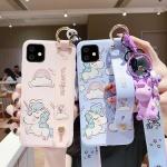 아이폰11pro 맥스 xr xs 8+ 유니콘 스트랩 젤리케이스