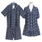 [쿠비카]플라워 레이온 투피스 커플잠옷 WM177