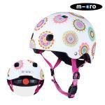 마이크로킥보드 아동용 헬멧 디럭스 V2 두들스팟 S