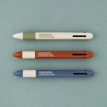 LIFE & PIECES 4색 볼펜 0.38mm (3종)