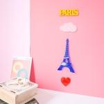 아크릴 에펠탑 모빌