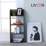 리브온(LIVOON) 삼나무 오픈 수납 선반