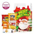 크라운 2019 크리스마스 산타양말 과자 선물세트