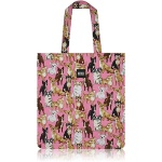 nother Chihuahuas Flat Tote Bag / 나더 치와와 패턴 플랫 토트백