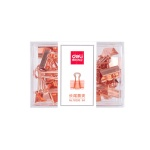 DELI 델리  메탈 더블클립 5호 (19mm) 78200-25PCS