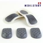 족저근막염 평발 MNS기능성 신발깔창