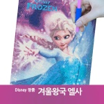 DIY 디즈니 보석십자수 겨울왕국 엘사 40x50