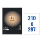 폼텍 A4 컬러 라벨/CO-3130