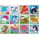 6 7 8 9 10조각 판퍼즐 - 물속동물(12종)