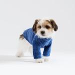 스니프 터틀넥 풀오버 스웨터 (블루)