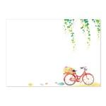 캘리그림엽서-자전거풍경(10장)