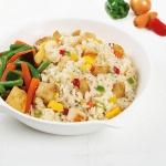 [허닭] 닭가슴살 야채 볶음밥 도시락