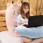 초 대형 큰 고양이 모찌 인형 쿠션 꿀잠 바디필로우