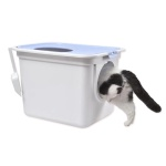 빅사이즈 위아래 투웨이 고양이화장실 배변통