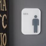 화장실표지판 화장실표시 화장실문구 표찰 빅