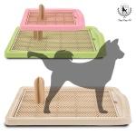 [딩동펫]애견배변판 강아지기둥배변판