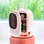 디자인 미니냉장고 화장품냉장고 8리터 mz-08 핑크