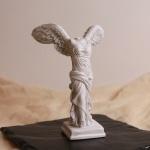 승리의 여신 니케 조각상 석고상 빈티지 엔틱 장식품