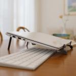 [무아스] 초경량 휴대용 다목적 노트북 거치대