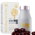 [박용우 리셋] 메가코큐비타 (500mg*120정,4개월) -코엔자임Q10, 비타민B