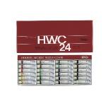 HWC 홀베인 수채화 물감 5ml 24색 / 수채물감