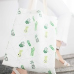 트로피칼 에코백 여름가방 데일리가방