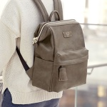 CRATTE MINI OFFICE LEATHER BACKPACK 미니 레더 백팩