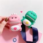 귀여운 아기공룡 실리콘 에어팟 케이스