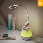 유즈비 스완 LED 무드등 스탠드 조명거울 펜홀더