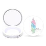 탐닉 LED 휴대용 손거울 팩트형 헬로썸머 에디션 SURF