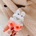 에어팟케이스/2세대/멜빵토끼 뜨개질케이스 381 핑크