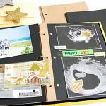 제이밀크 전용 시간기록 스크랩 내지 리필 패키지(초음파사진 스크랩,내지리필)