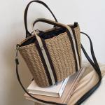 루카 라탄 왕골 숄더백 여름가방