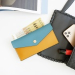 Edge leather cash wallet