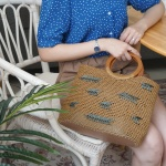 포레스트 자수백-가벼운 여름가방 뜨개질 동영상포함