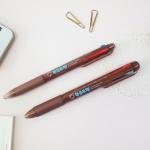항균쿠펜 0.7mm 3색, 3+1색펜 (1개입)