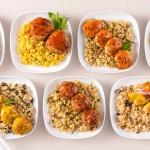 낮은 칼로리 포켓도시락 점심대용식 2주분 (12종12팩)