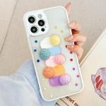 아이폰12 11 pro max xs 8 아이스크림 투명 폰 케이스