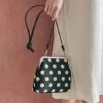 Amelie frame bag_dot black