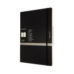 몰스킨 프로 노트/블랙 소프트 A4