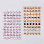 카카오프렌즈 투명 얼굴 스티커