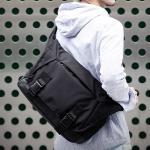 [몬스터리퍼블릭] ADVENCE MESSENGER BAG / BLACK