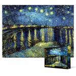 500피스 직소퍼즐 - 론강의 별이 빛나는 밤